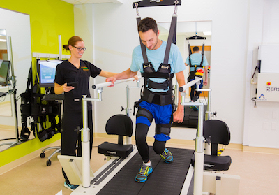 ZeroG BWSTT I -Weight Support Treadmill System